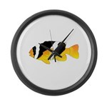 Sebae Anemonefish Large Wall Clock