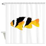 Sebae Anemonefish Shower Curtain