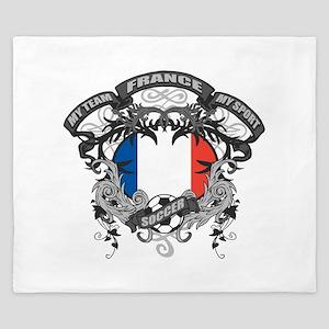 France Soccer King Duvet