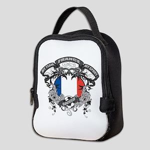 France Soccer Neoprene Lunch Bag