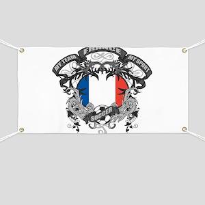 France Soccer Banner