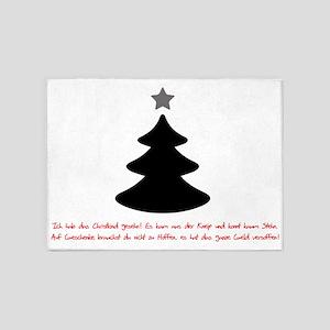 SPRUCH CHRISTMAS 5'x7'Area Rug