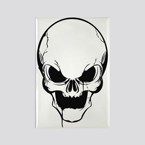SKULL Rectangle Magnet