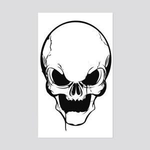 SKULL Sticker (Rectangle)