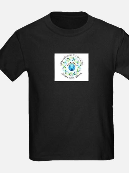 International CdCS Awarness Week Logo w/ Kids Hold