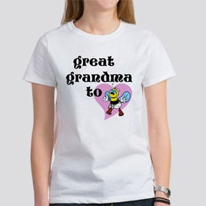 Heart Great Grandma To Bee T-Shirt