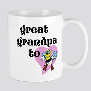 Heart Great Grandpa To Bee Mugs