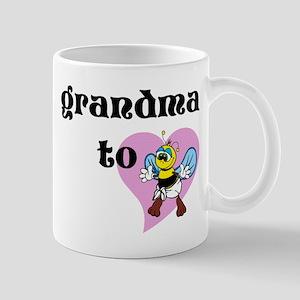 Heart Grandma To Bee Mugs