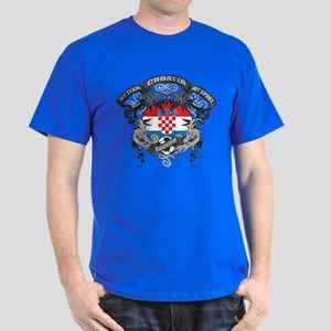 Croatia Soccer Dark T-Shirt