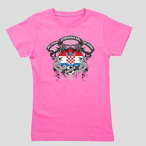 Croatia Soccer Girl's Tee