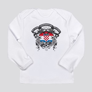 Croatia Soccer Long Sleeve Infant T-Shirt