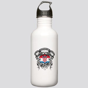 Croatia Soccer Stainless Water Bottle 1.0L
