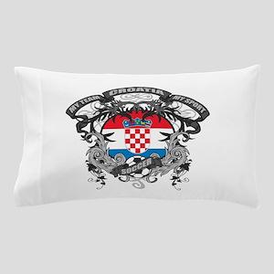 Croatia Soccer Pillow Case