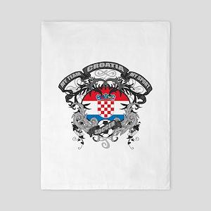 Croatia Soccer Twin Duvet