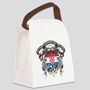 Croatia Soccer Canvas Lunch Bag