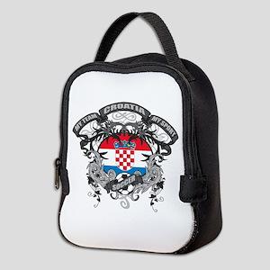 Croatia Soccer Neoprene Lunch Bag