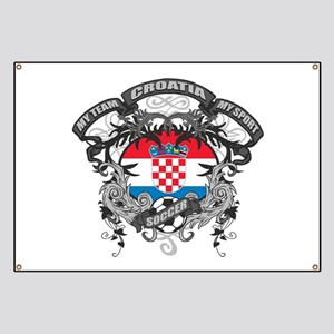 Croatia Soccer Banner