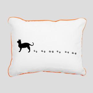 Kitty paws Rectangular Canvas Pillow