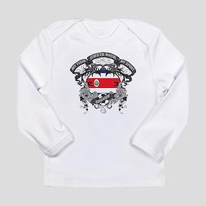 Costa Rica Soccer Long Sleeve Infant T-Shirt