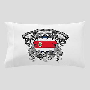 Costa Rica Soccer Pillow Case