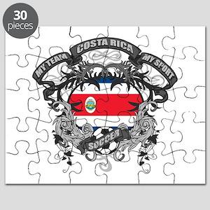 Costa Rica Soccer Puzzle