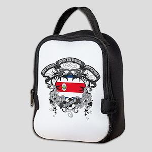 Costa Rica Soccer Neoprene Lunch Bag