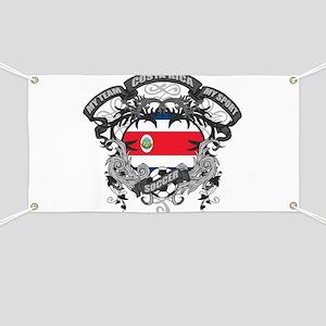 Costa Rica Soccer Banner