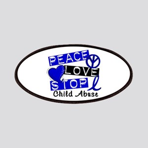 Peace Love Stop Child Abuse 1 Patches