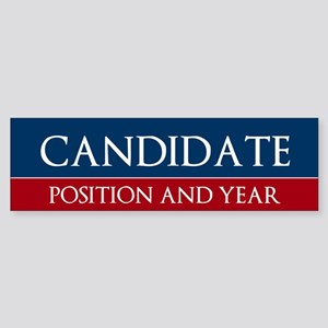 Custom Political Bumper Sticker