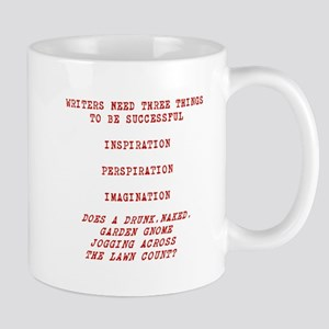 WRITER INSPIRATION-RED Mugs