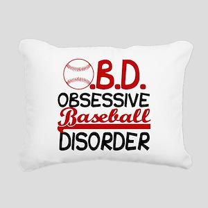 Funny Baseball Rectangular Canvas Pillow