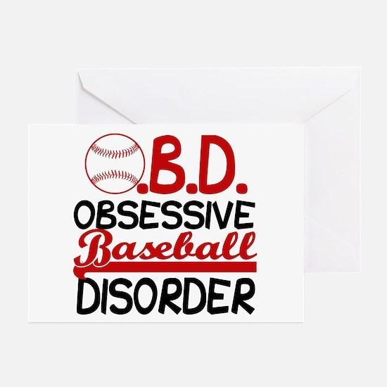 Funny Baseball Greeting Cards (Pk of 10)