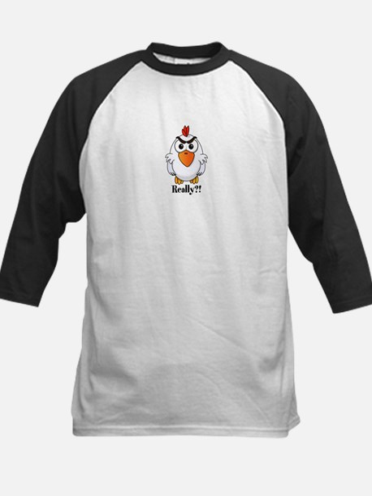 Angry Chicken Baseball Jersey