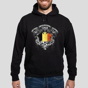 Belgium Soccer Hoodie (dark)