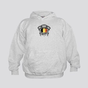 Belgium Soccer Kids Hoodie