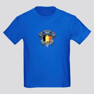 Belgium Soccer Kids Dark T-Shirt
