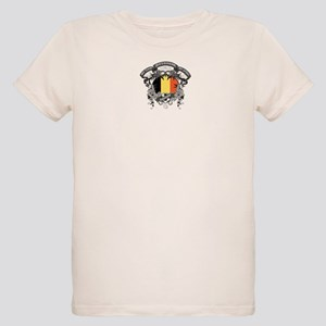 Belgium Soccer Organic Kids T-Shirt