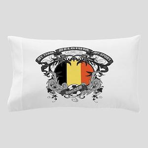 Belgium Soccer Pillow Case