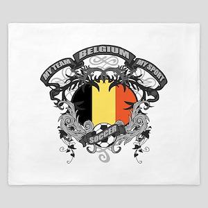 Belgium Soccer King Duvet