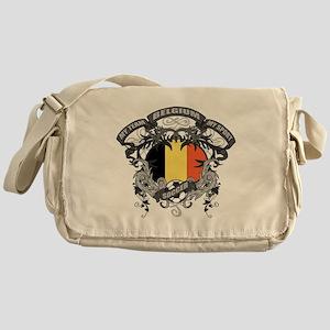 Belgium Soccer Messenger Bag
