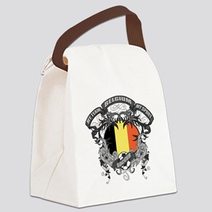 Belgium Soccer Canvas Lunch Bag