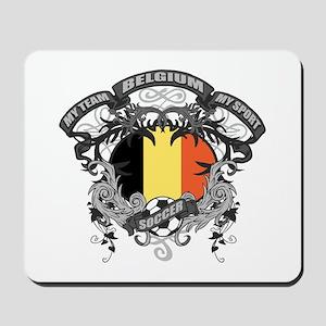 Belgium Soccer Mousepad
