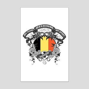 Belgium Soccer Mini Poster Print