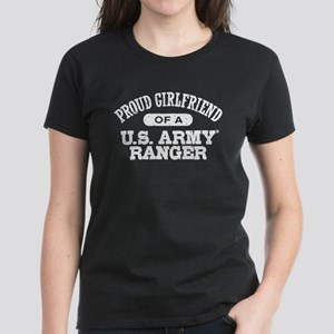 Army Ranger Girlfriend Women's Dark T-Shirt
