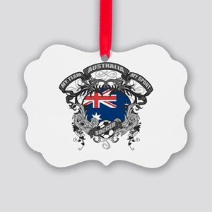 Australia Soccer Picture Ornament
