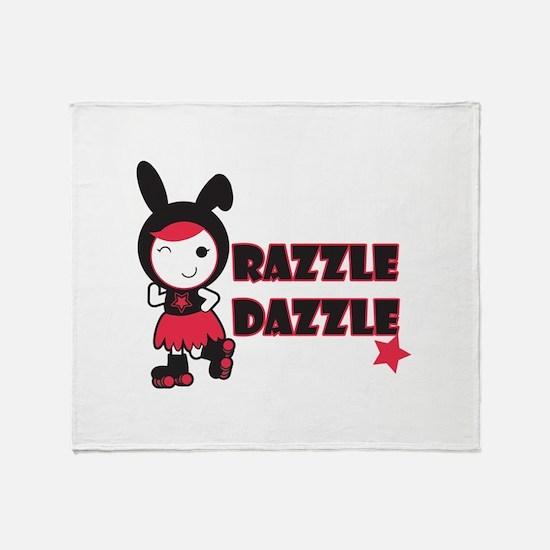 Razzle Dazzle Throw Blanket