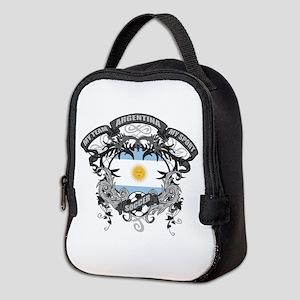 Argentina Soccer Neoprene Lunch Bag