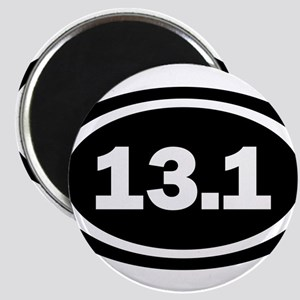 13.1 Black Oval 3 by 5 Magnets