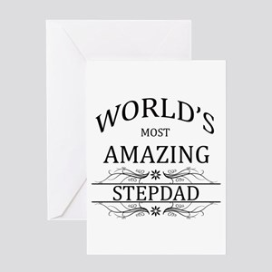 World's Most Amazing Step Dad Greeting Card