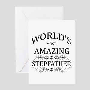 World's Most Amazing Dad Greeting Card